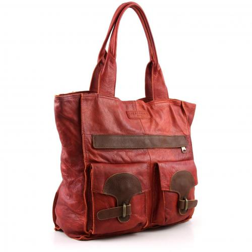 Liebeskind D Leather Marit Shopper Leder orange