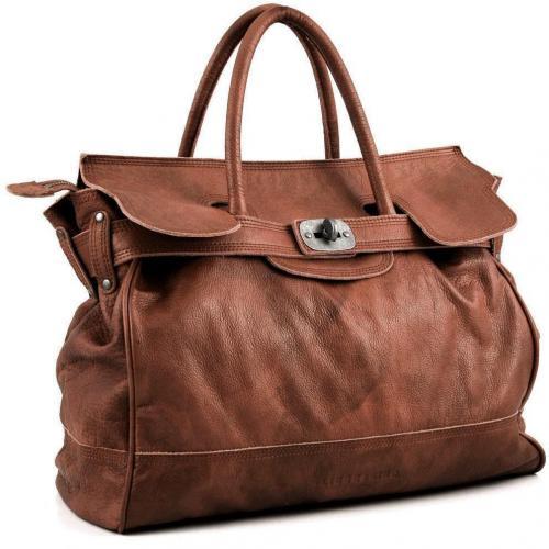 liebeskind d leather mia henkeltasche leder beige. Black Bedroom Furniture Sets. Home Design Ideas