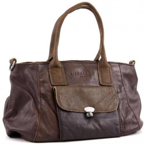 Liebeskind D Leather Romy Shopper Leder braun