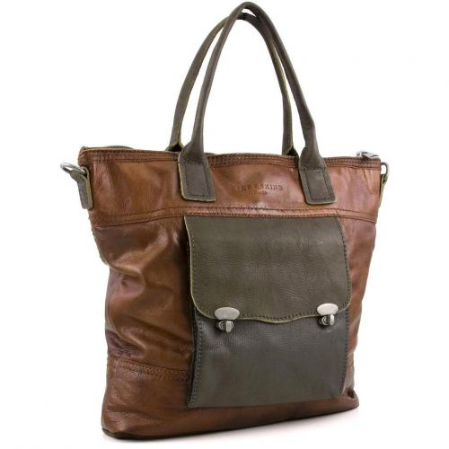 Liebeskind D Leather Yamina Shopper Leder beige