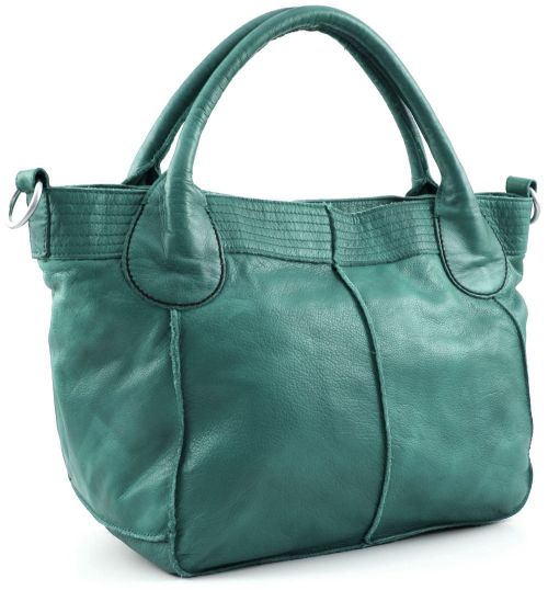 Liebeskind Shopper 2D Leather Lina Aqua