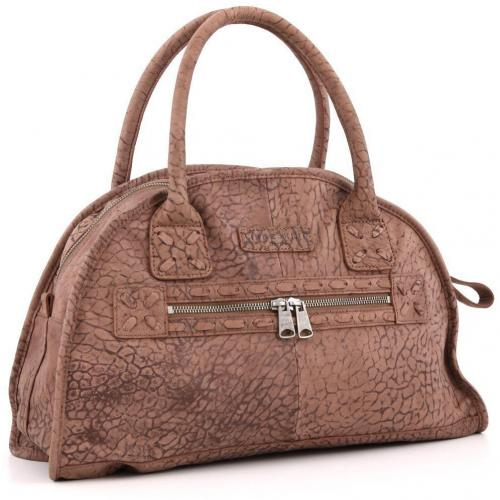 Liebeskind Bubble Grainy Arizona Henkeltasche Leder brandy