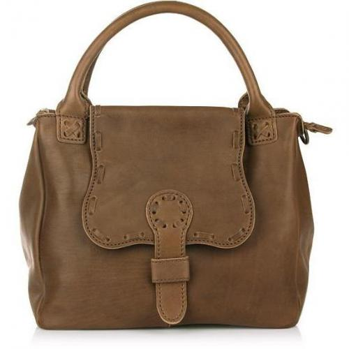 Liebeskind Joy Pull Up Leather Brown