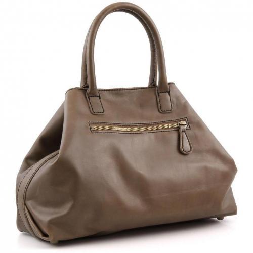 Liebeskind Limited Pull Up Leather L.A. Shopper Leder braun