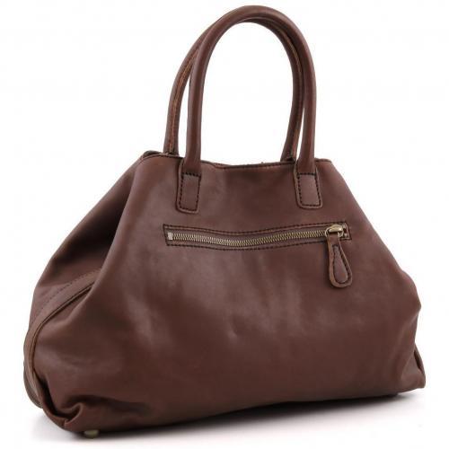Liebeskind Limited Pull Up Leather L.A. Shopper Leder wein