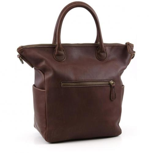 Liebeskind Limited Pull Up Leather Madrid Shopper Leder wein