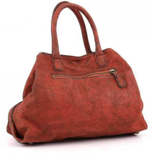 Liebeskind Limited Snake L.A. Shopper Leder orange