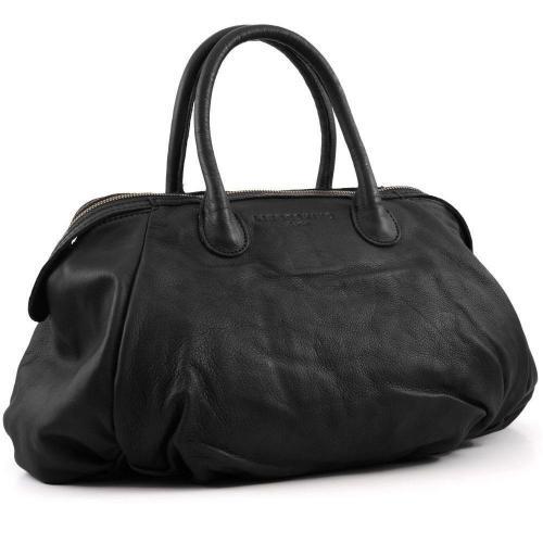 liebeskind vintage francisb henkeltasche leder schwarz. Black Bedroom Furniture Sets. Home Design Ideas