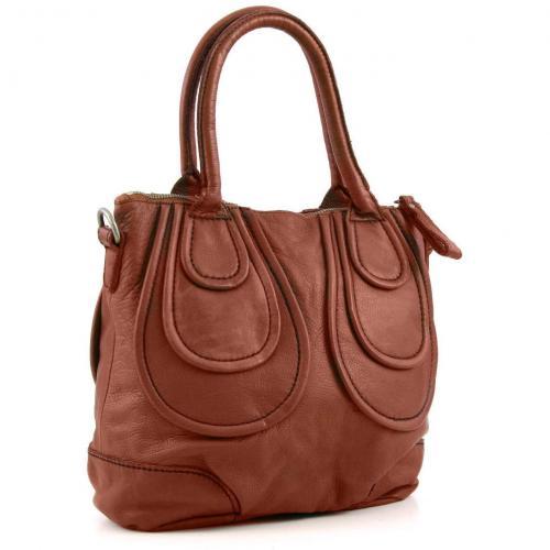 Liebeskind Vintage Johanna Henkeltasche Leder saddle brown