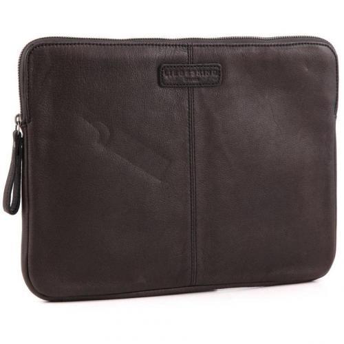 Liebeskind Vintage L-Sleeve Laptophülle Leder dunkelbraun