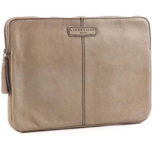 Liebeskind Vintage L-Sleeve Laptophülle Leder stein