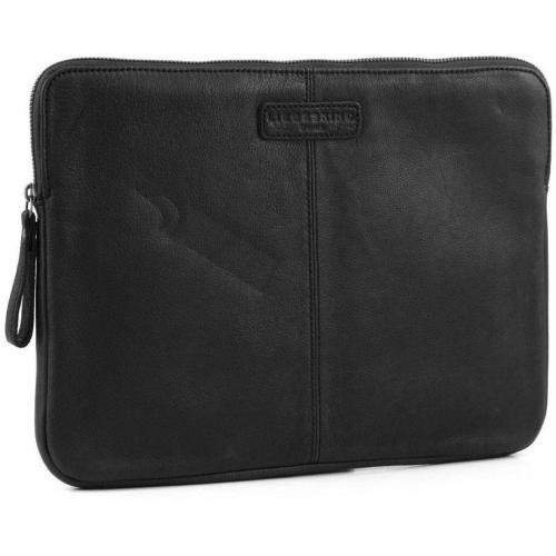 Liebeskind Vintage L-Sleeve Laptophülle Leder schwarz