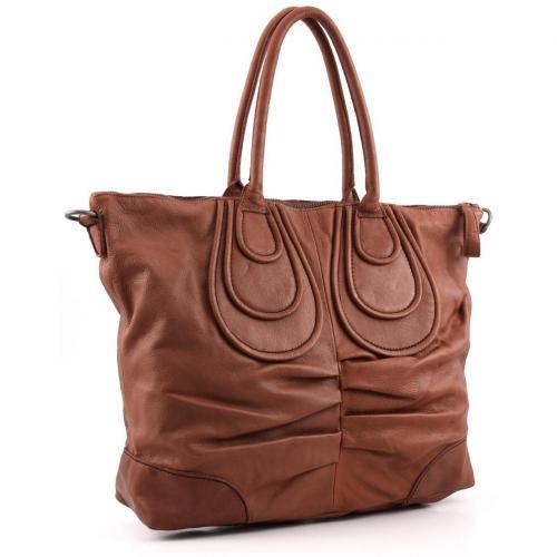 Liebeskind Vintage Nele Shopper Leder saddle brown