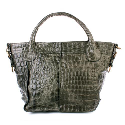 liebeskind tuve croco forest designer handtaschen. Black Bedroom Furniture Sets. Home Design Ideas