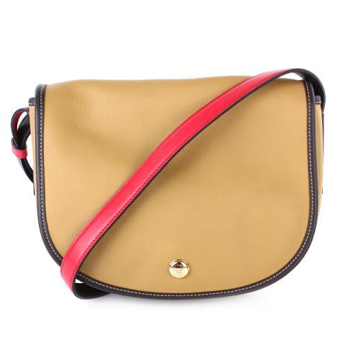 Loewe Handbag Satchel Caramel/Rot