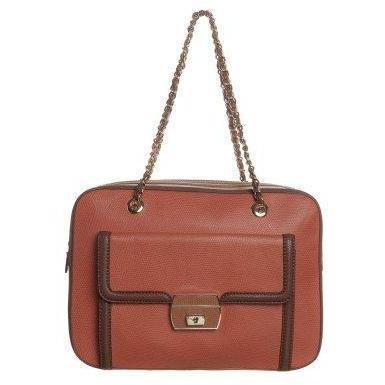 Love Moschino LIZARD Handtasche marron