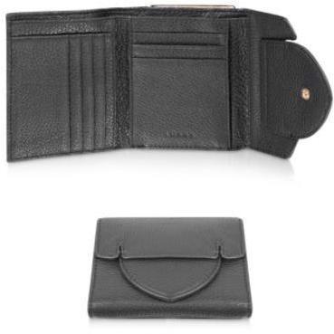 Luana Layla - Brieftasche aus Leder Schwarz