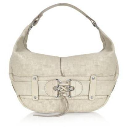 Luana Olivie - Große Hobo Tasche aus Leder