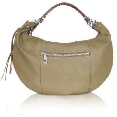 Luana Zip - Mittelgroße Hobo-Bag aus Leder