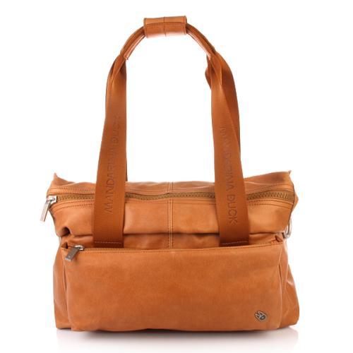 Mandarina Duck Bowling Bag Jolly Cognac