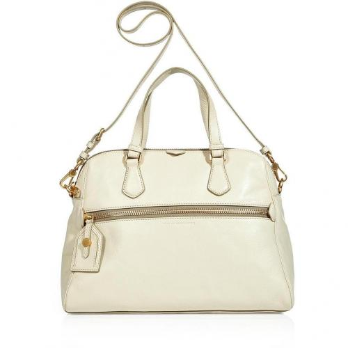Marc by Marc Jacobs Beige Calamity Rei Tote with Shoulder Strap