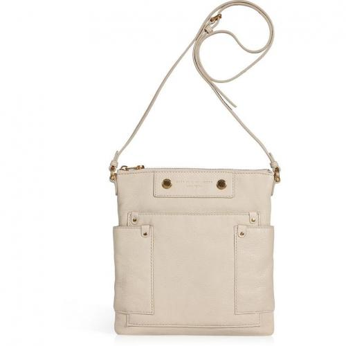 Marc by Marc Jacobs Beige Leather Sia Crossbody Bag