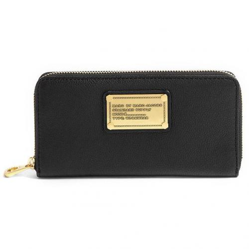 Marc by Marc Jacobs Black Classic Q Wallet
