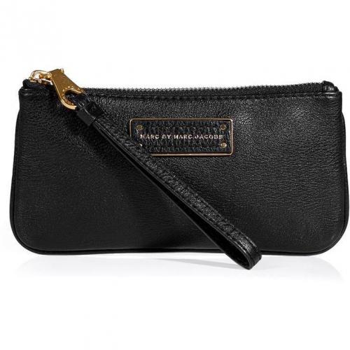 Marc by Marc Jacobs Black Leather Wristlet