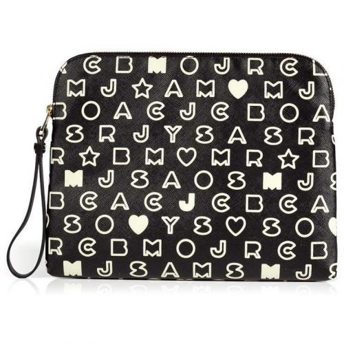 Marc by Marc Jacobs Black/White Eazy Tech Tablet