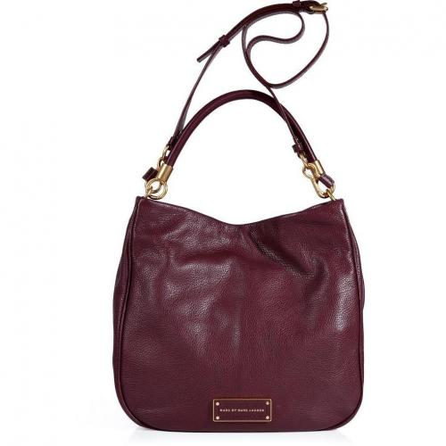 Marc by Marc Jacobs Cardamom Leather Hobo Bag