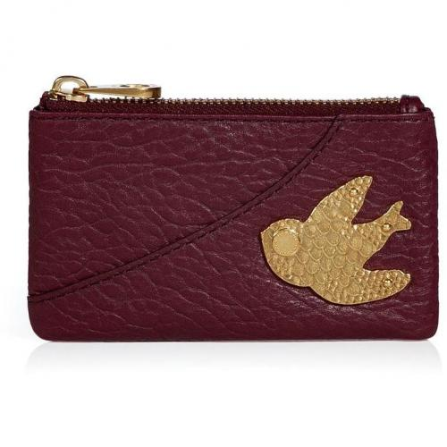 Marc by Marc Jacobs Cardamom Leather Key Pouch