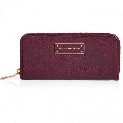 Marc by Marc Jacobs Cardamom Slim Zip Around Leather Wallet