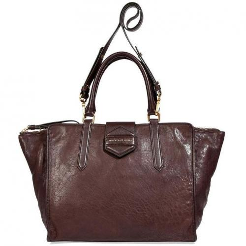 Marc by Marc Jacobs Carob Brown Tote with Shoulder Strap