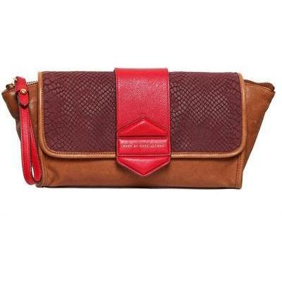 Marc By Marc Jacobs - Flipping Out Colorblock Leder Clutch