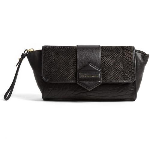 Marc by Marc Jacobs Flipping Out Leather Clutch