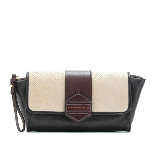Marc by Marc Jacobs Flipping Out Lederclutch