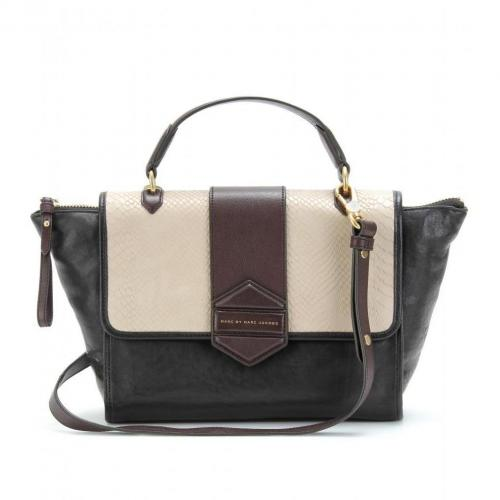 Marc by Marc Jacobs Flipping Out Trapeztasche Black Multi