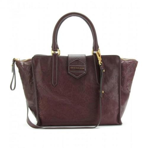 Marc by Marc Jacobs Flipping Out Trapeztasche Carob Brown