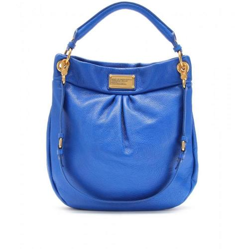 Marc by Marc Jacobs Hillier Ledertasche Meteorite Blue