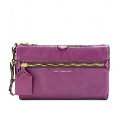 Marc by Marc Jacobs Jen The Blizzard Lederclutch