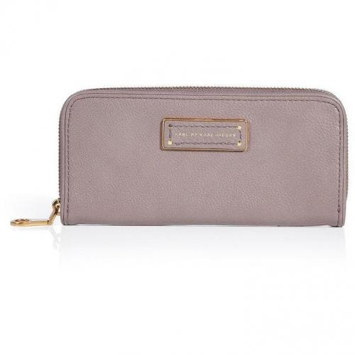 Marc by Marc Jacobs Mink Slim Zip Around Leather Wallet