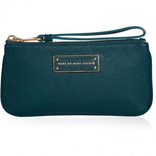 Marc by Marc Jacobs Peacock Leather Banklet Clutch