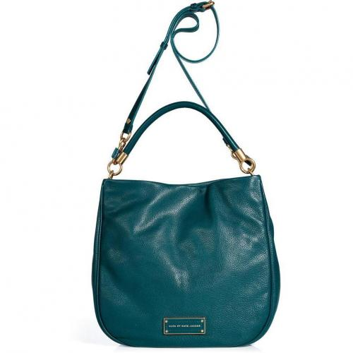 Marc by Marc Jacobs Peacock Leather Hobo Bag