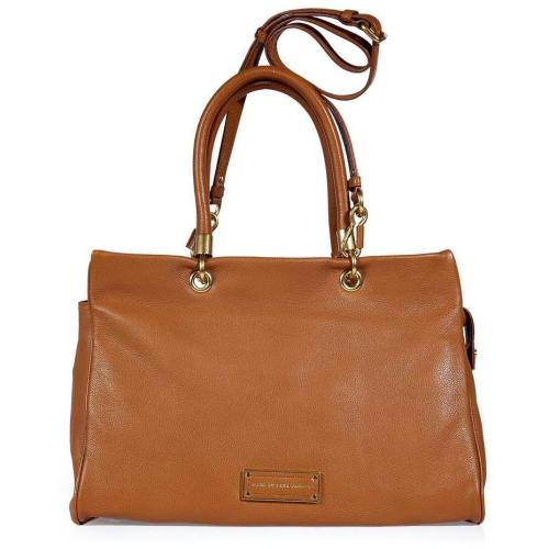 Marc by Marc Jacobs Rum Colored Too Hot Tote with Shoulder Strap