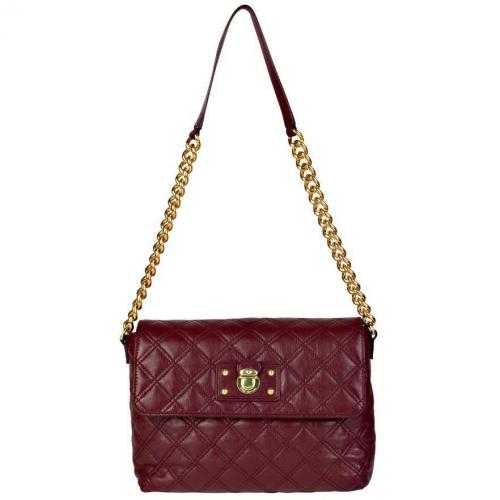 Marc Jacobs Schultertasche Large Single Rot