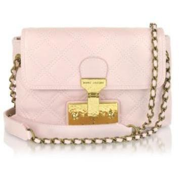 Marc Jacobs The Single - Schultertasche aus Leder in pink