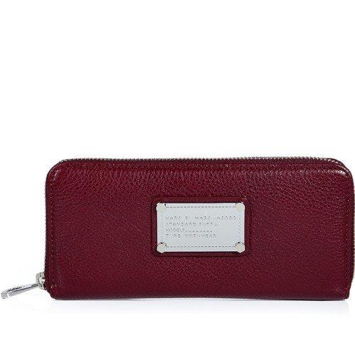 Marc Jacobs Zip Wallet Rot