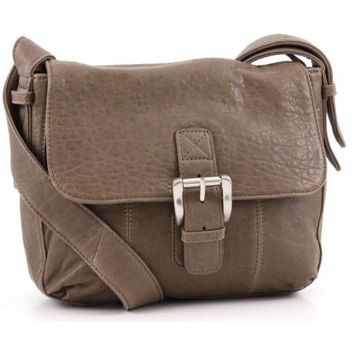 Marc O'Polo Arboga Schultertasche Leder taupe