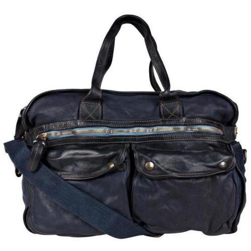 Marc O'Polo Vintage-Tasche Blau