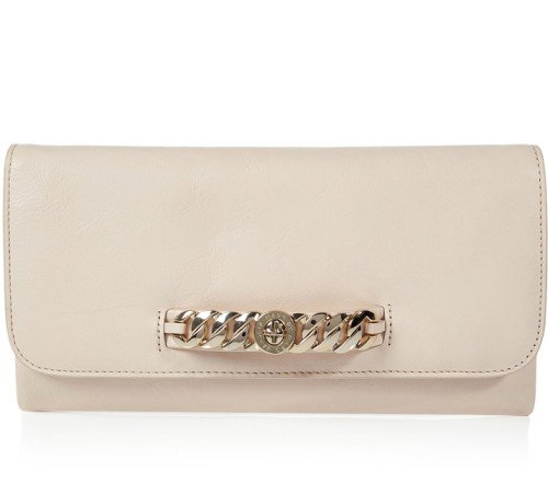 Marc Jacobs Shell-Colored Katie Clutch Bag
